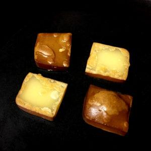 フライパンで焼きスモークチーズ
