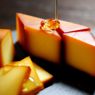 蜂蜜スモークチーズ