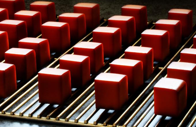 スモークチーズ製造